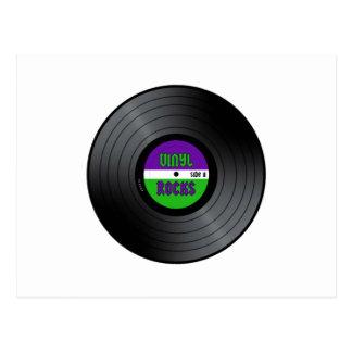 Carte Postale Le vinyle bascule LP