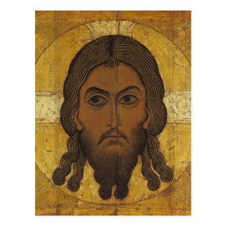 Carte Postale Le visage saint