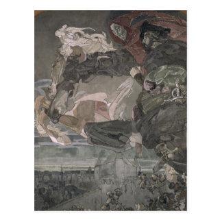 Carte Postale Le vol de Faust et de Mephistopheles, 1896