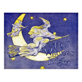 Carte Postale Le vol des sorcières