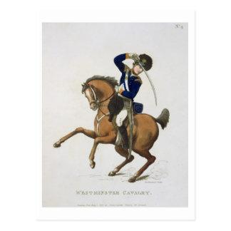 Carte Postale Le volontaire de cavalerie de Westminster,