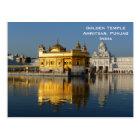 Carte Postale Le voyage vintage de tourisme de l'Inde de temple