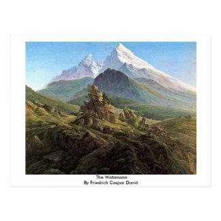 Carte Postale Le Watzmann par Friedrich Caspar David