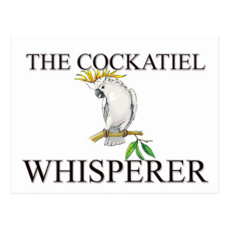 Carte Postale Le Whisperer de Cockatiel