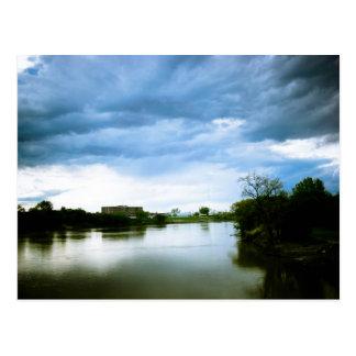 Carte Postale Le Winnipeg la rivière rouge Lomo a dénommé la
