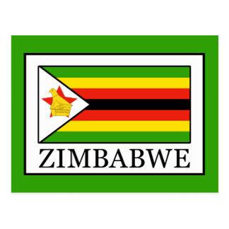 Carte Postale Le Zimbabwe