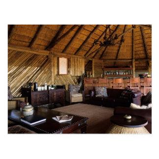 Carte Postale Le Zimbabwe, parc national de Hwange, loge de