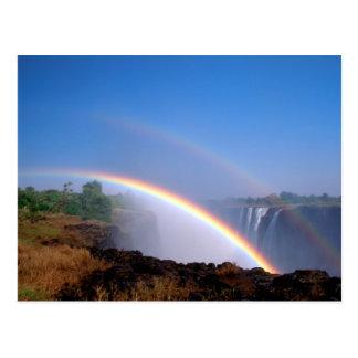 Carte Postale Le Zimbabwe, parc national des chutes Victoria.