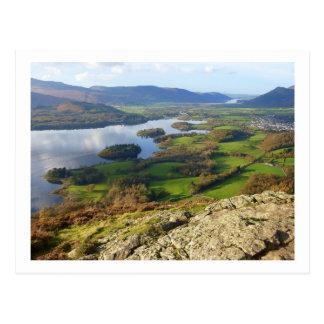 Carte Postale L'eau de Derwent du rocher de Walla