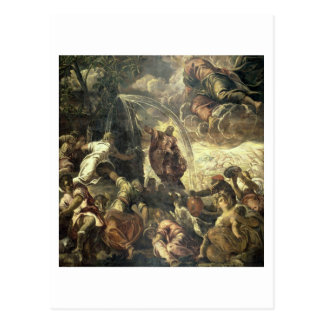 Carte Postale L'eau saisissante de Moïse de la roche, 1575