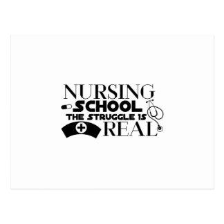 Carte Postale L'école d'infirmières la lutte est vrai cadeau