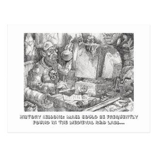 Carte Postale Leçons de Histoire au sujet des impers