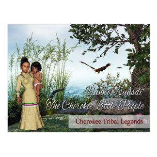 Carte Postale Légendes tribales cherokee : Les lutins