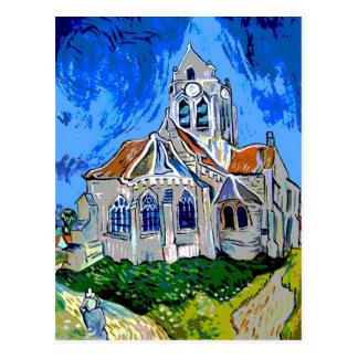 Carte Postale L'église chez Arles