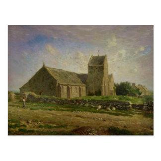 Carte Postale L'église chez Greville, c.1871-74