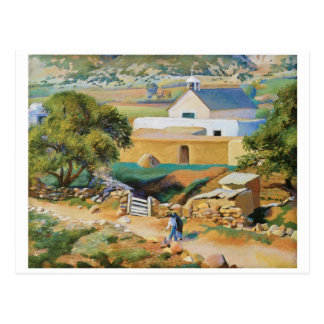 Carte Postale L'église de mission par Kenneth Miller Adams