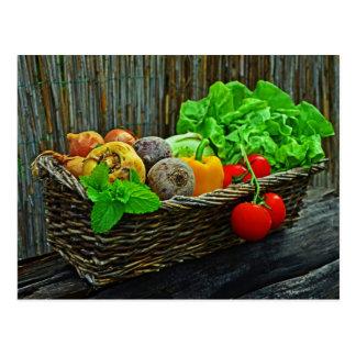Carte Postale Légume frais