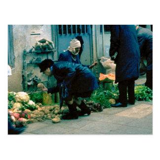 Carte Postale Légumes de achat à Tel Aviv