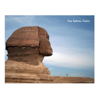 Carte Postale L'Egypte 055, le sphinx, le Caire