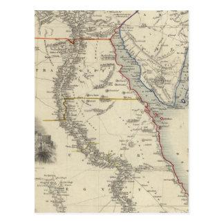 Carte Postale L'Egypte, et l'Arabie Petraea