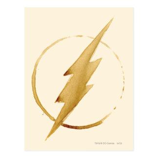 Carte Postale L'emblème | jaune instantané de coffre