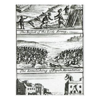 Carte Postale L'empereur complimentant le Roi Henry