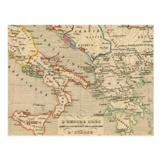 Carte Postale L'Empire Grec, l'Italie, 1002 un 1125