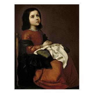 Carte Postale L'enfance de la Vierge, c.1660