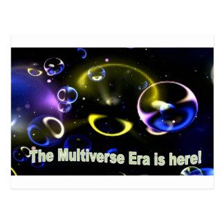 Carte Postale L'ère de Multiverse est ici !