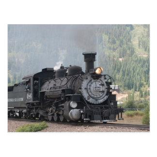 Carte Postale Les 486 Silverton partant, le Colorado