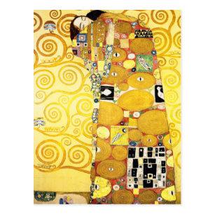 Carte Postale Les Amateurs de bourse Gustav Klimt