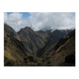 Carte Postale Les Andes