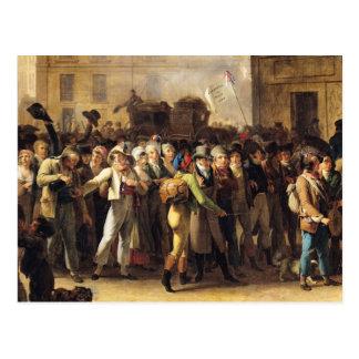 Carte Postale Les appelés de 1807