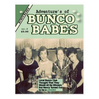 Carte Postale Les aventures de l'édition #2 de bébés de Bunco