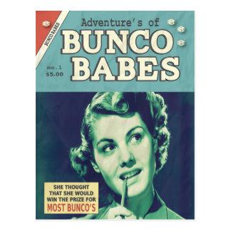 Carte Postale Les aventures des bébés de Bunco