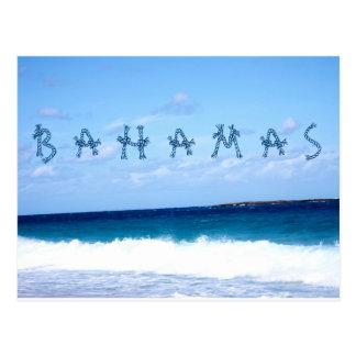 Carte Postale Les Bahamas et l'océan