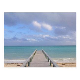 Carte Postale Les BAHAMAS, île de Bahama grande, côté oriental :