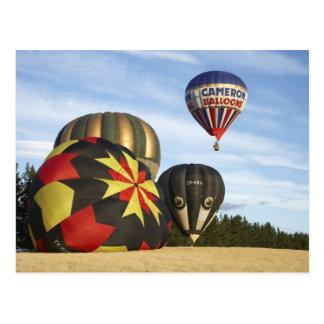 Carte Postale Les ballons à air chauds s'approchent de Wanaka,