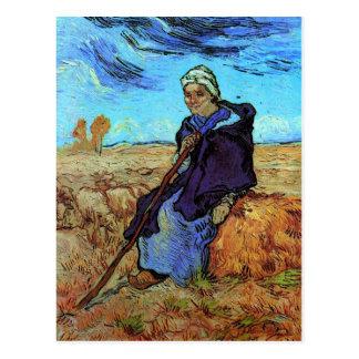 Carte Postale Les beaux-arts de Van Gogh de bergère (après