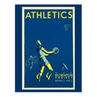 Carte Postale Les Carte-Sports/Jeu-Cru folâtre l'art 6