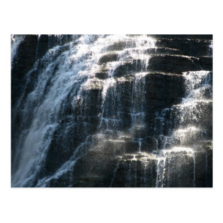 Carte Postale Les cascades chez Ithaca tombe New York