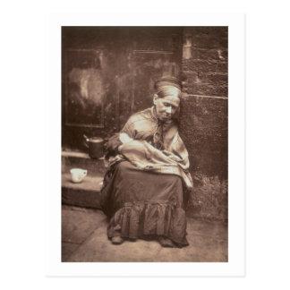 """Carte Postale Les chenilles, de la """"vie dans la rue à Londres"""","""