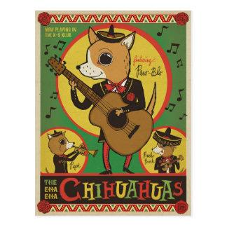 Carte Postale Les chiwawas de Cha Cha