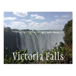 Carte Postale Les chutes Victoria, Zambie, Zimbabwe