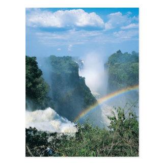 Carte Postale Les chutes Victoria, Zimbabwe