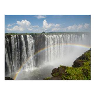Carte Postale Les chutes Victoria Zimbabwe