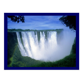 Carte Postale Les chutes Victoria Zimbabwe Afrique