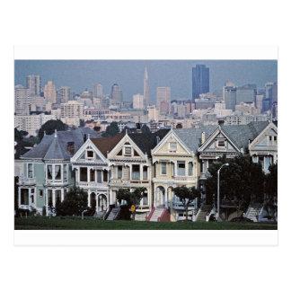 Carte Postale Les dames peintes San Francisco