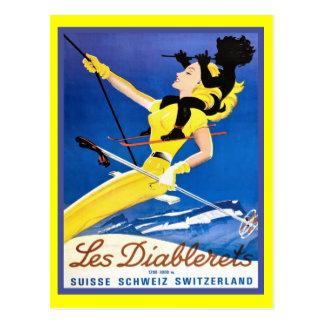 Carte Postale Les Diablerets, Suisse