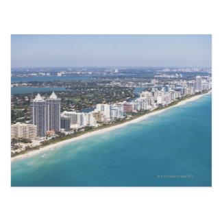 Carte Postale Les Etats-Unis, la Floride, Miami, paysage urbain